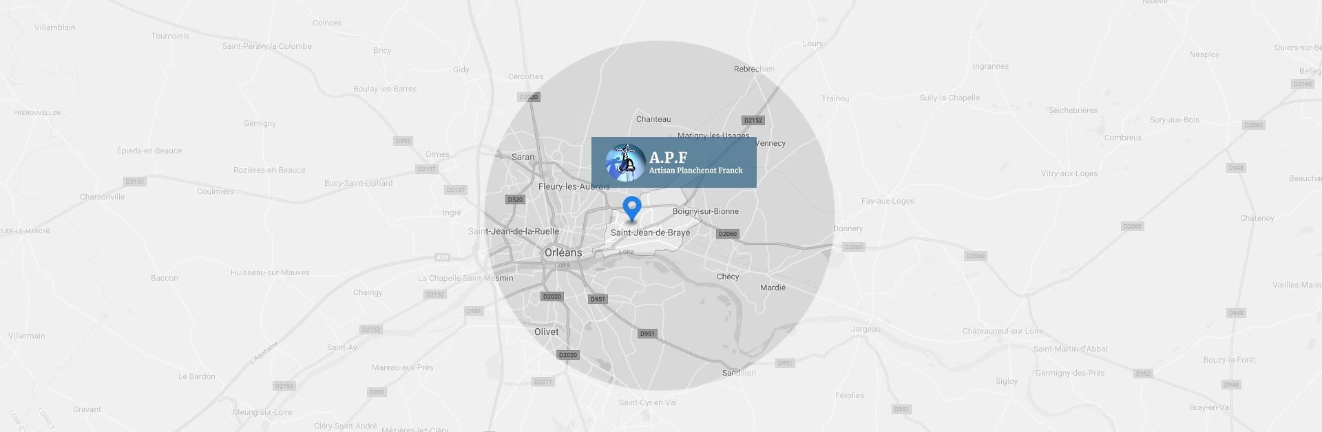 plombier qualifié, est à votre disposition dans le secteur est d'Orléans. | Artisan Planchenot Franck